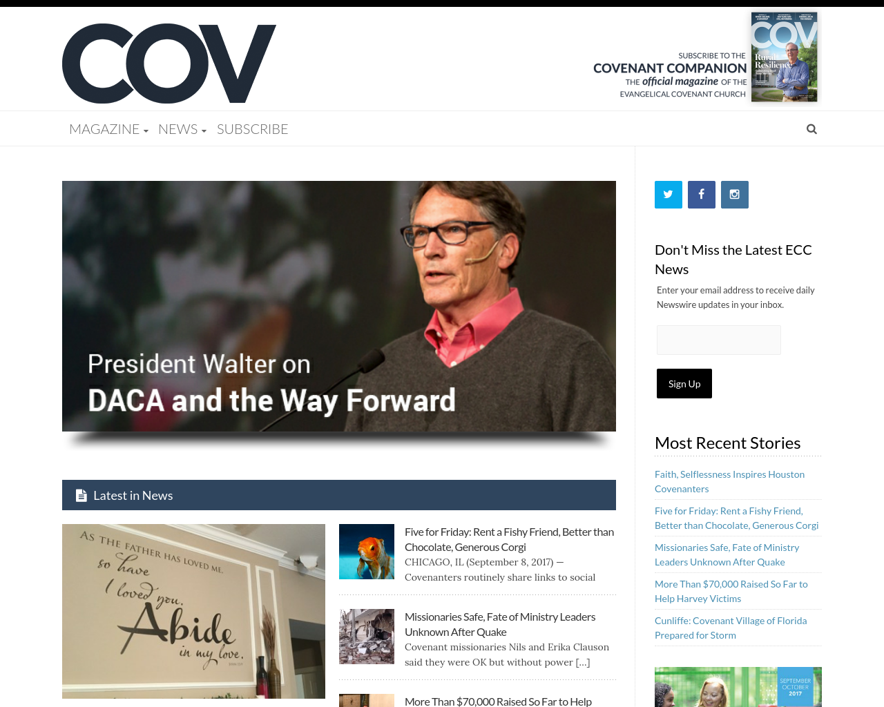 Covenantcompanion.com-Advertising-Reviews-Pricing