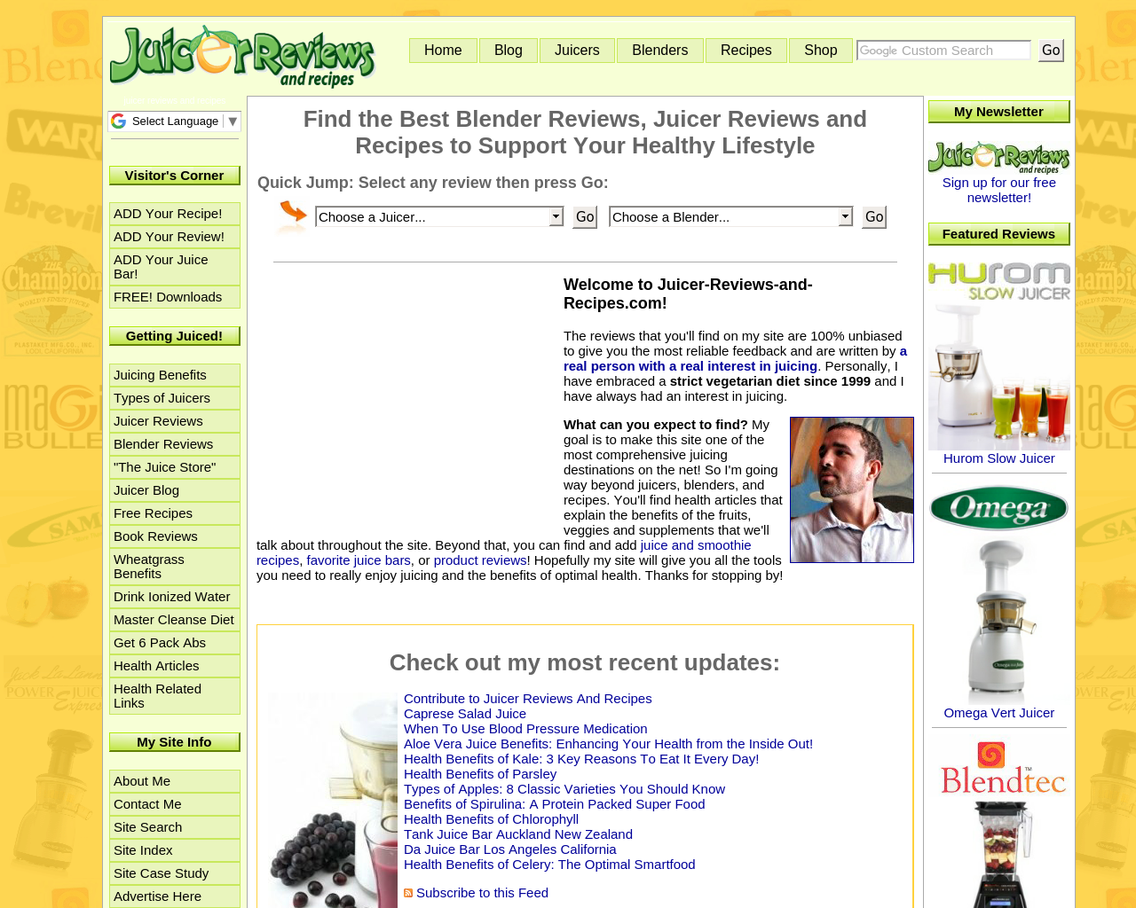 Juicer-Reviews-and-Recipes-Advertising-Reviews-Pricing