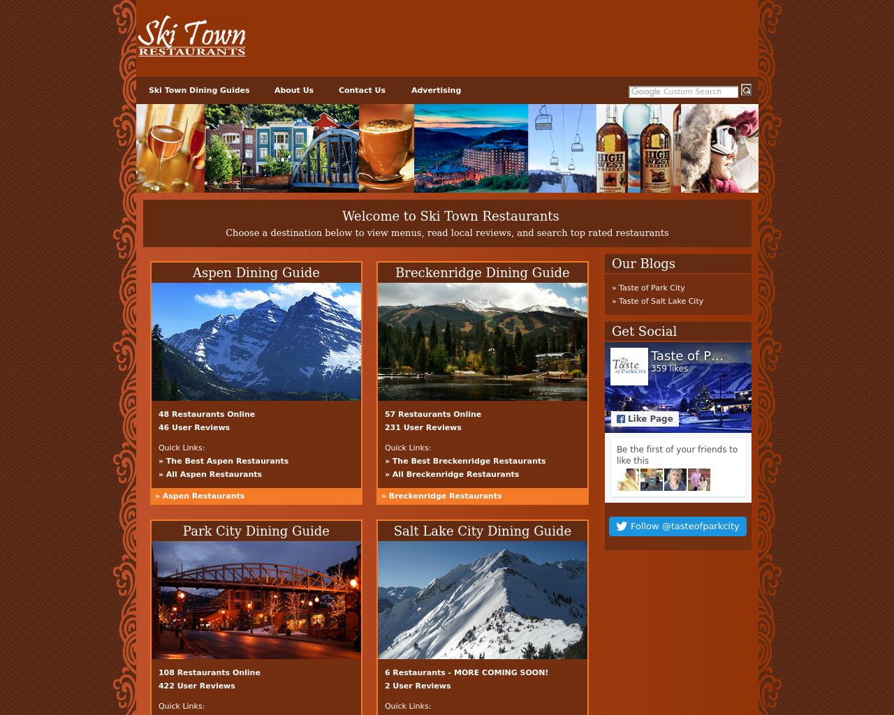 Ski-Town-Restaurants-Advertising-Reviews-Pricing