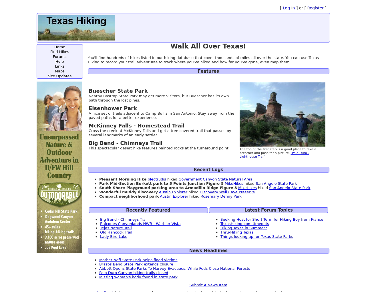 Texas-Hiking-Advertising-Reviews-Pricing