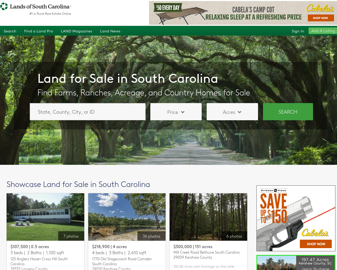 Lands-of-South-Carolina-Advertising-Reviews-Pricing