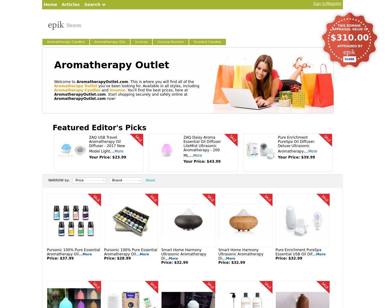 Aromatherapy-Outlet-Advertising-Reviews-Pricing
