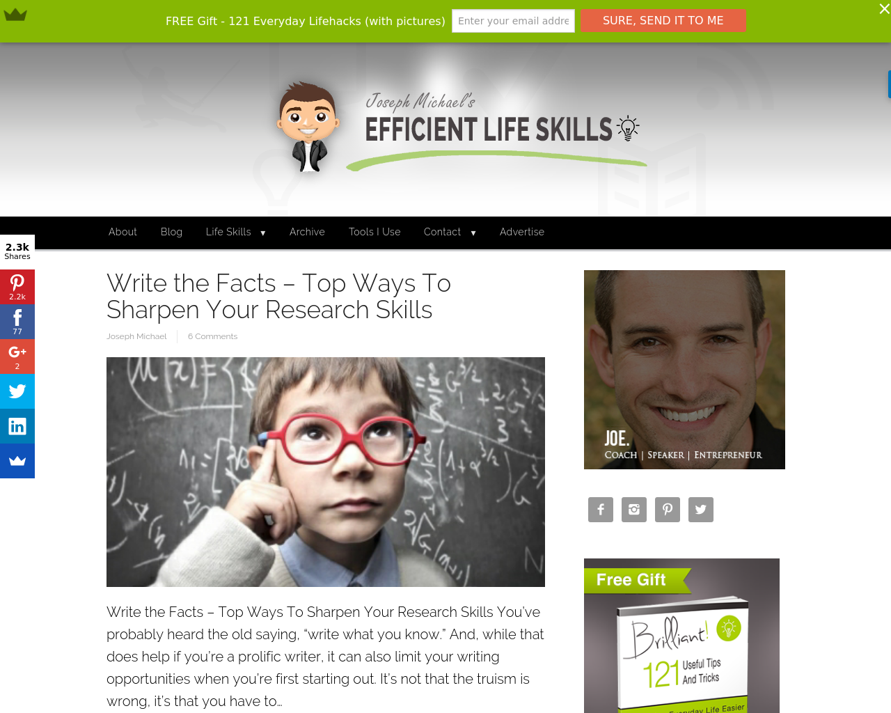 Efficientlifeskills.com-Advertising-Reviews-Pricing