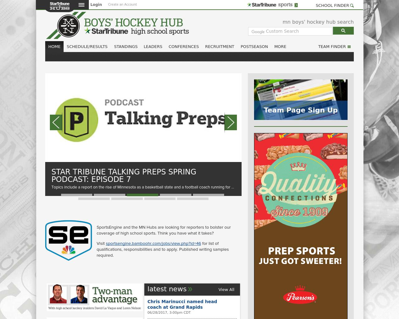 Minnesota-Hockey-Hub-Advertising-Reviews-Pricing