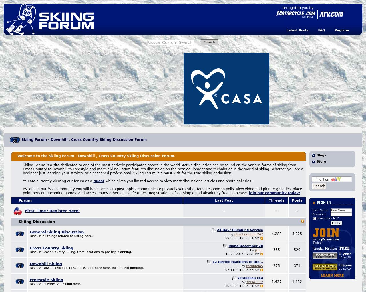 Skiing-Forum-Advertising-Reviews-Pricing
