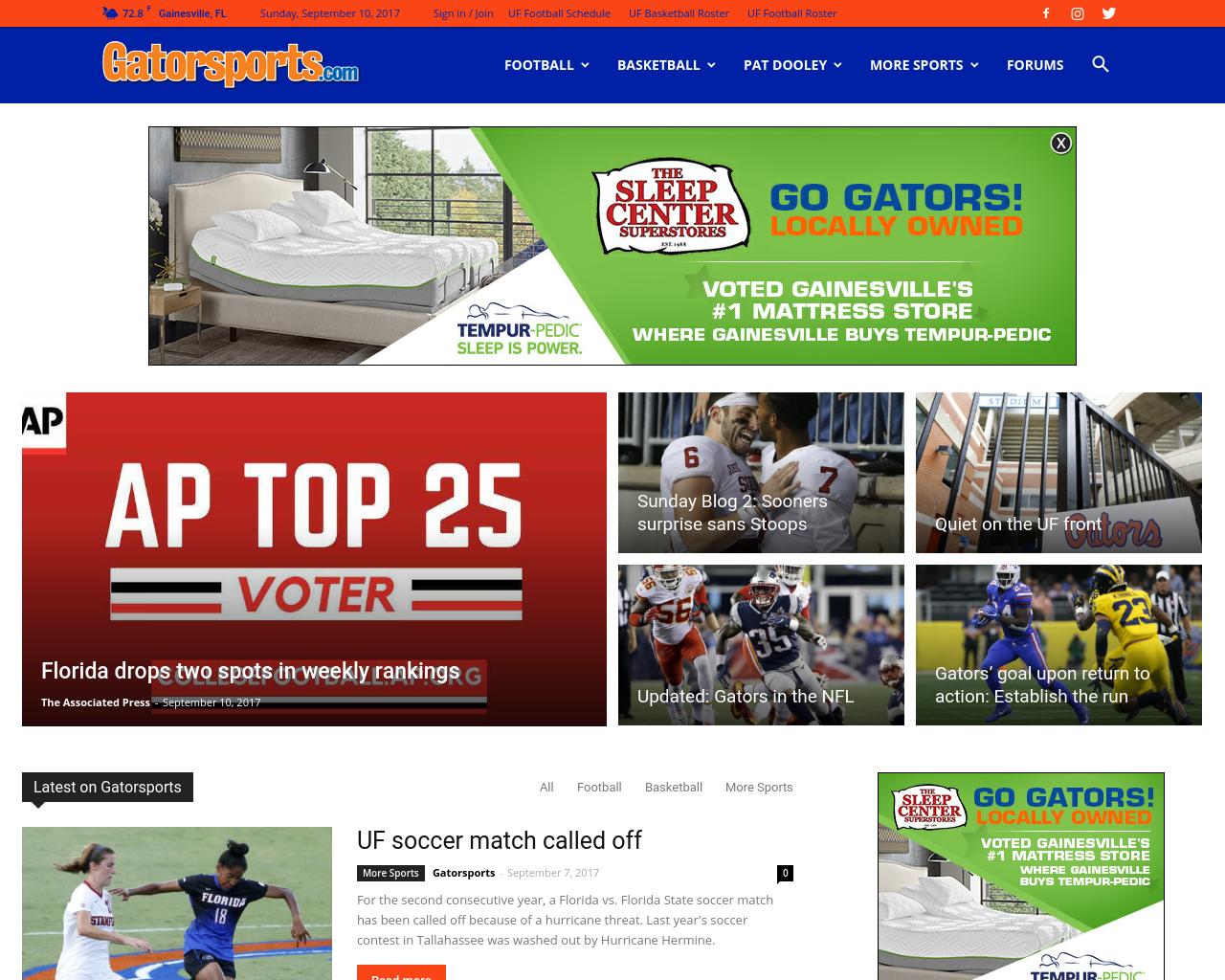 Gatorsports.com-Advertising-Reviews-Pricing