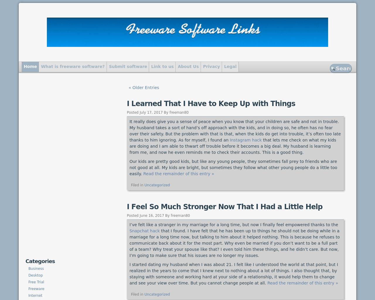 Freeware-Software-Links-Advertising-Reviews-Pricing