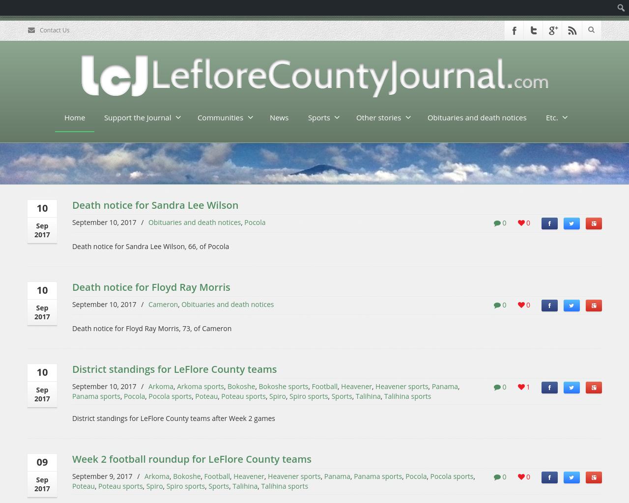 Leflorecountyjournal.com-Advertising-Reviews-Pricing