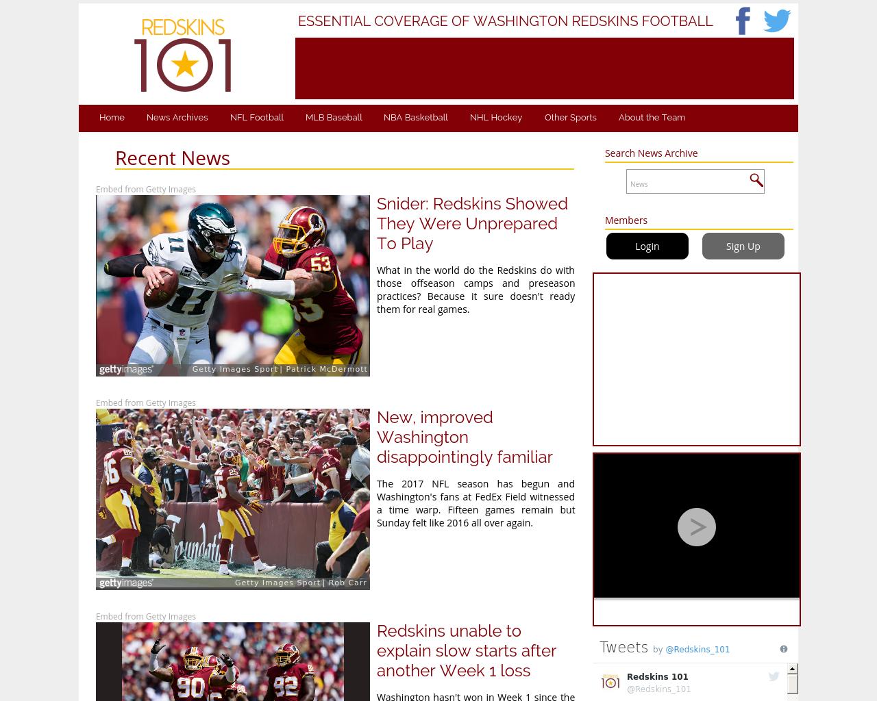 Redskins101.com-Advertising-Reviews-Pricing