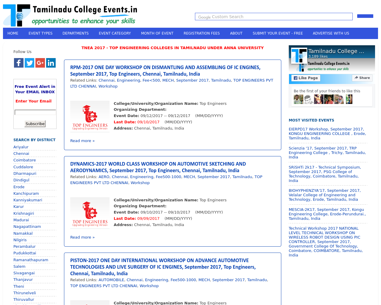 Tamilnadu-College-Events.in-Advertising-Reviews-Pricing