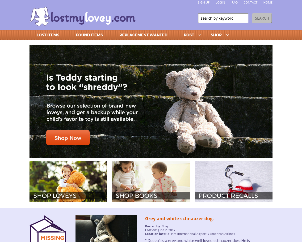 LostMyLovey-Advertising-Reviews-Pricing