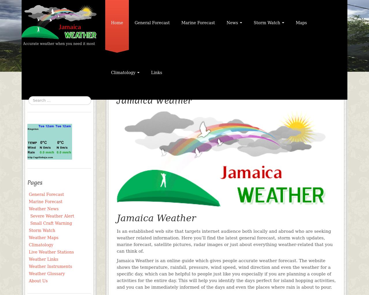 Jamaica-Weather-Advertising-Reviews-Pricing