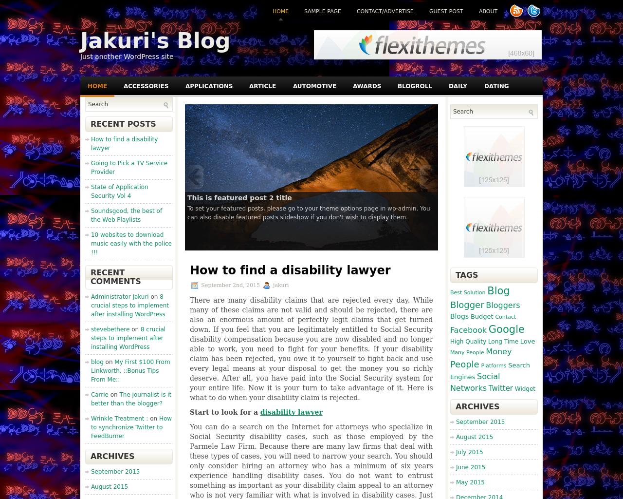 Jakuri's-Blog-Advertising-Reviews-Pricing