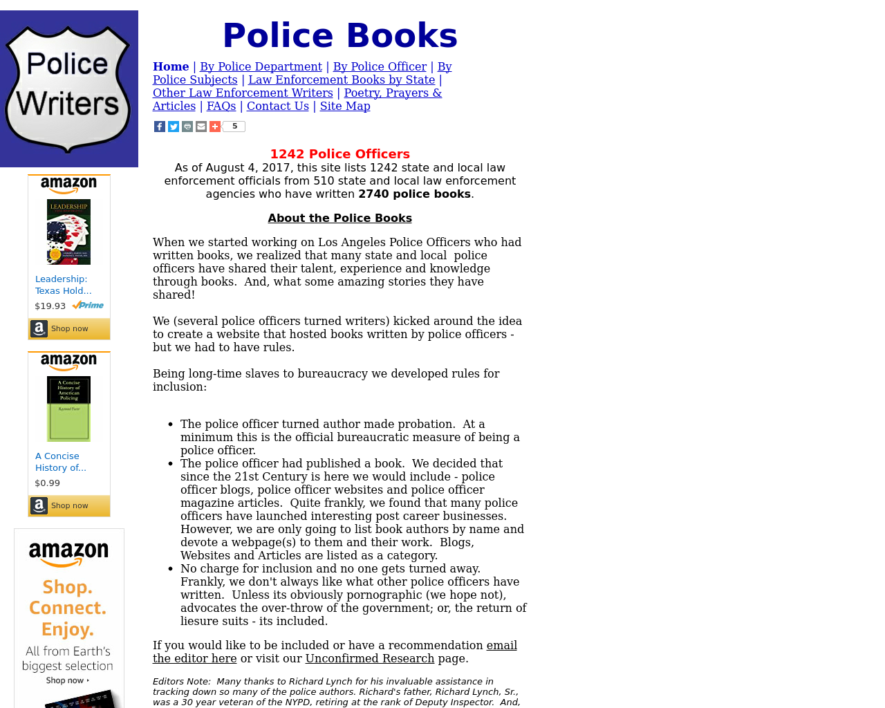 Police-Writers-Advertising-Reviews-Pricing