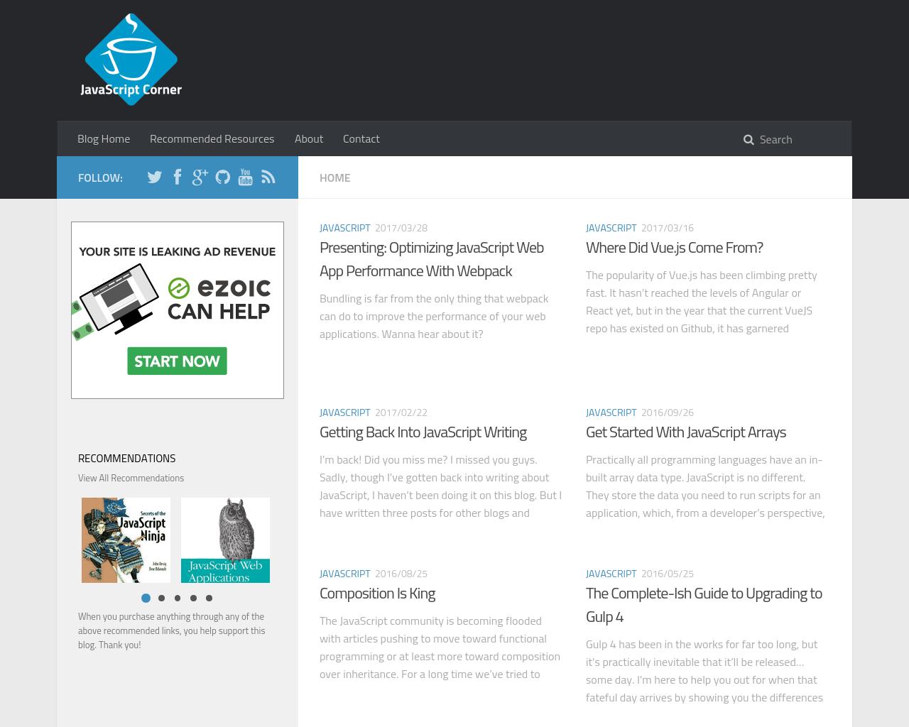 Joe-Zim's-JavaScript-Blog-Advertising-Reviews-Pricing