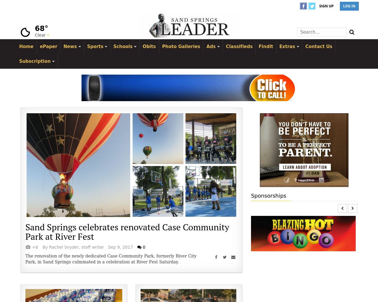 Sand-Springs-Leader-Advertising-Reviews-Pricing