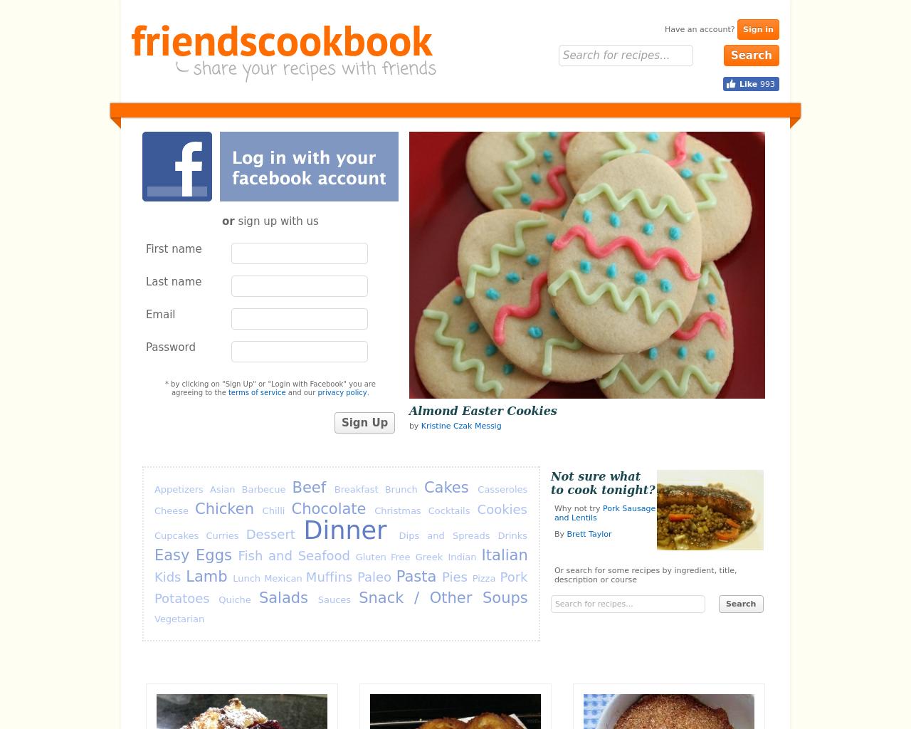 friendscookbook-Advertising-Reviews-Pricing