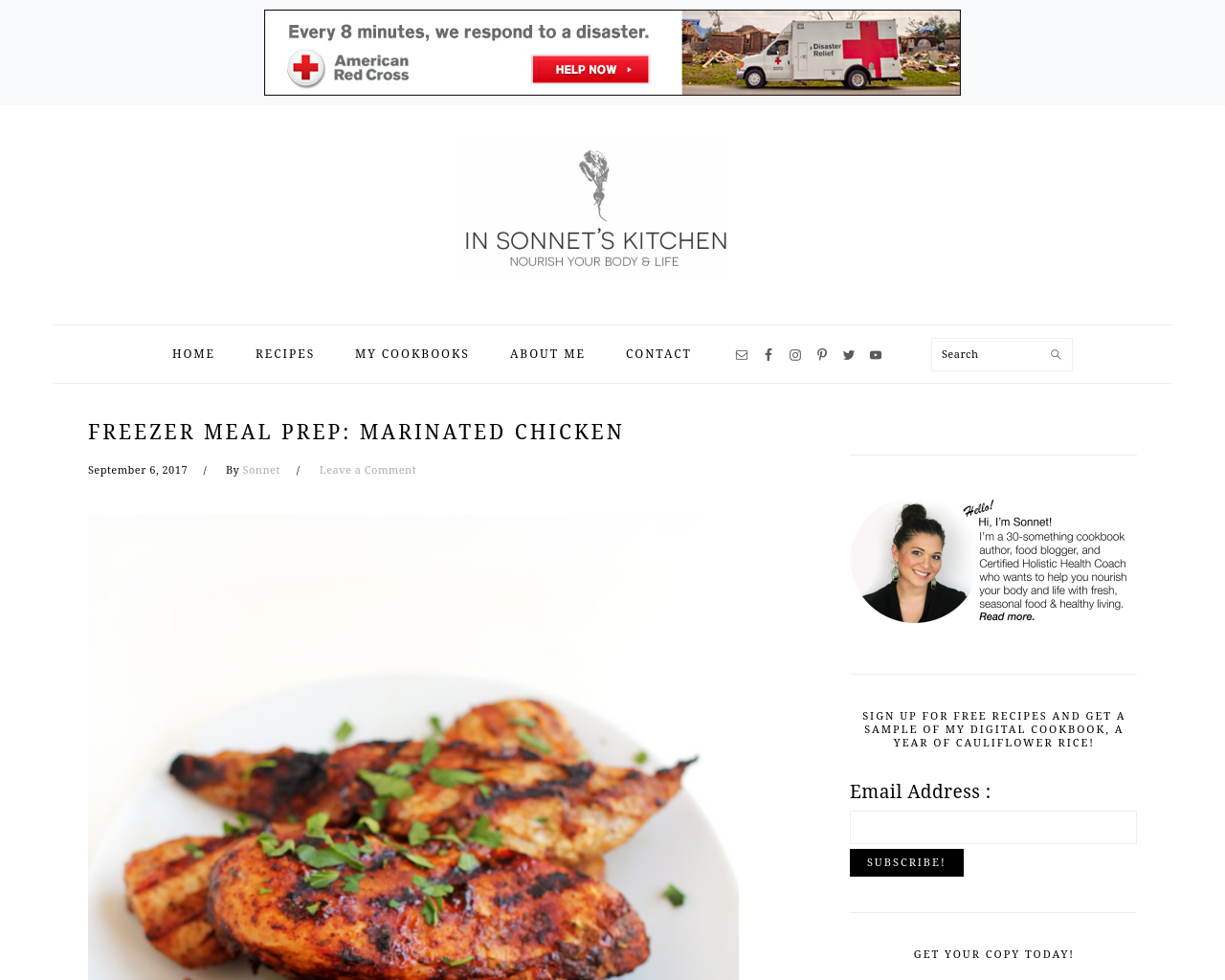 IN-SONNET'S-KITCHEN-Advertising-Reviews-Pricing