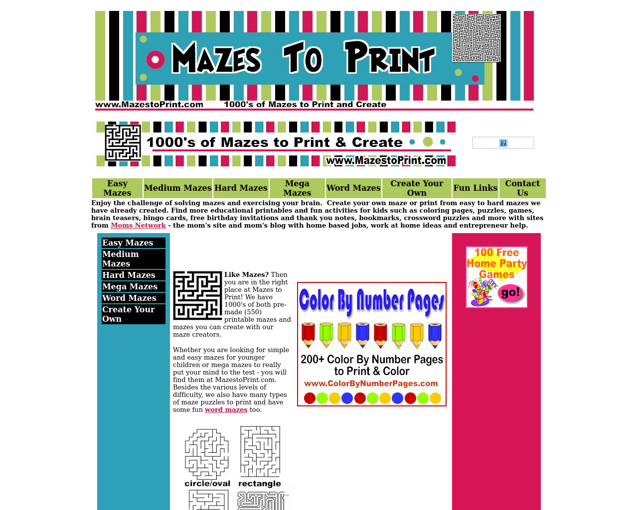 Mazes-To-Print-Advertising-Reviews-Pricing