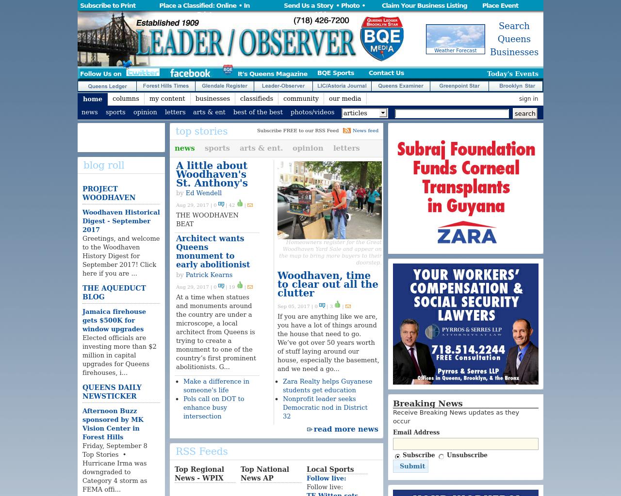 Leader-Observer-Advertising-Reviews-Pricing