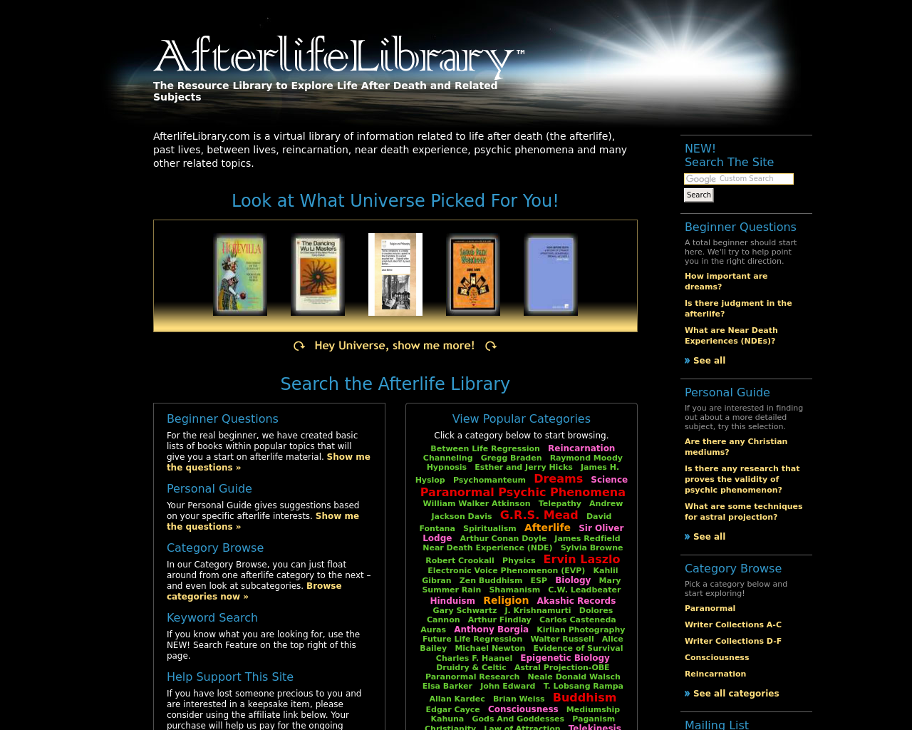AfterlifeLibrary.com-Advertising-Reviews-Pricing