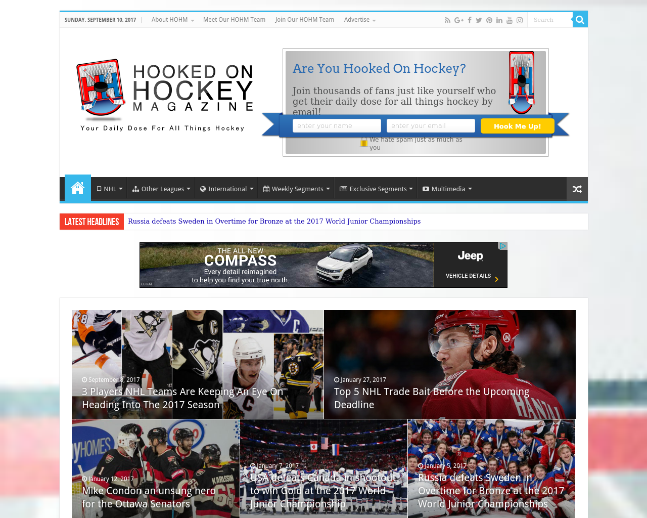 Hooked-On-Hockey-Magazine-Advertising-Reviews-Pricing