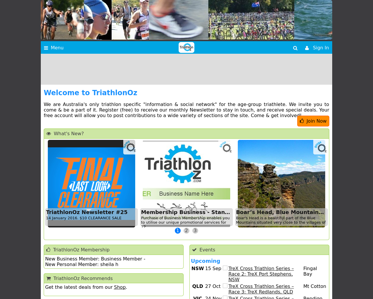 Triathlonoz.com-Advertising-Reviews-Pricing