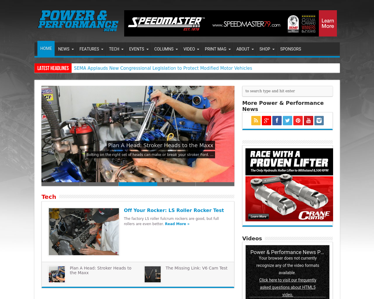 Power-&-Performance-News-Advertising-Reviews-Pricing