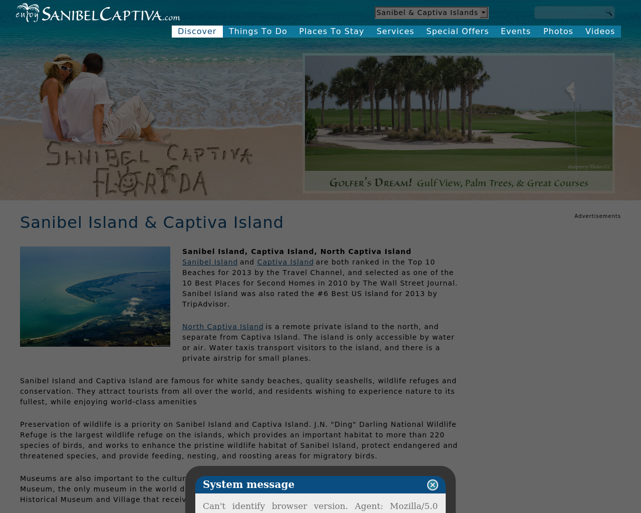 enjoySanibelCaptiva.com-Advertising-Reviews-Pricing