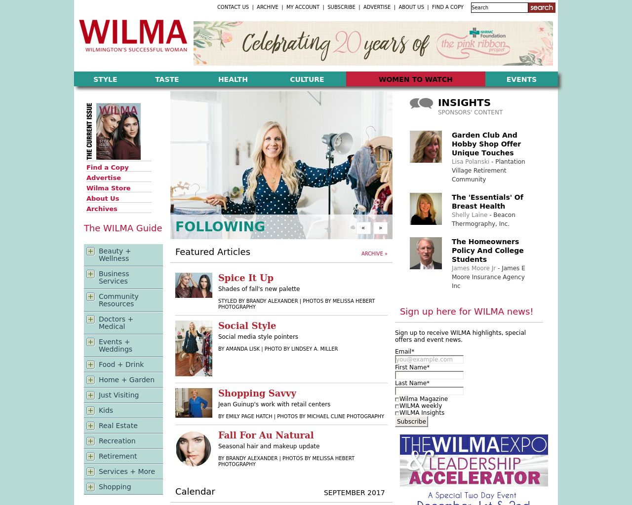 WILMA---Wilmington's-Magazine-for-Women-Advertising-Reviews-Pricing