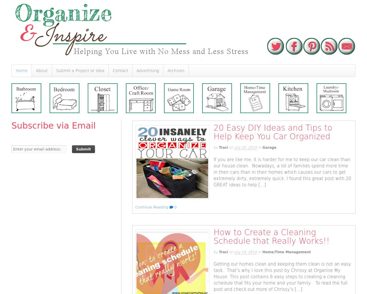 Organize-&-Inspire-Advertising-Reviews-Pricing