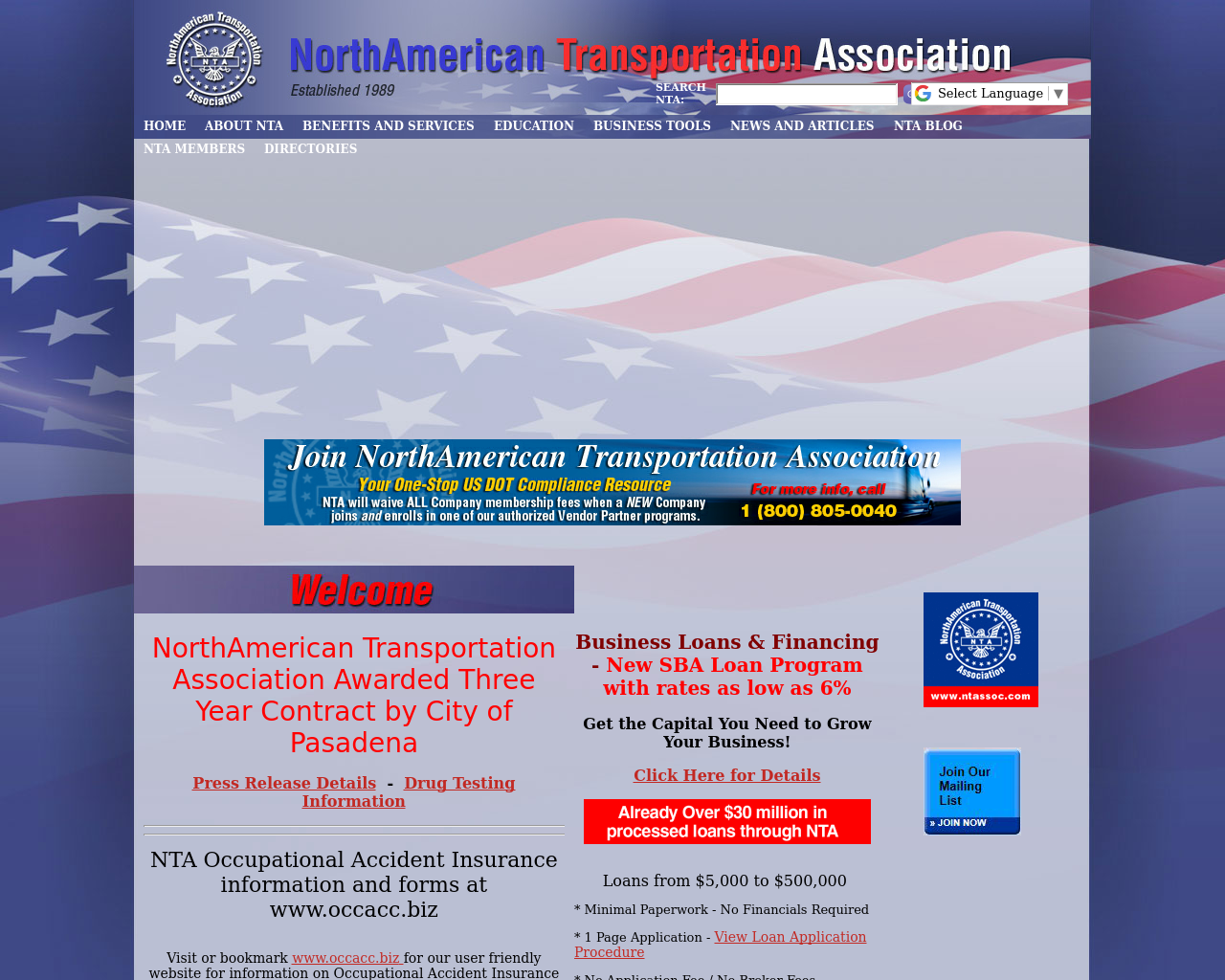 NorthAmerican-Transportation-Association-Advertising-Reviews-Pricing