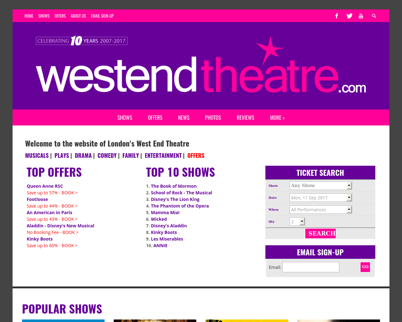 West-End-Theatre-Advertising-Reviews-Pricing