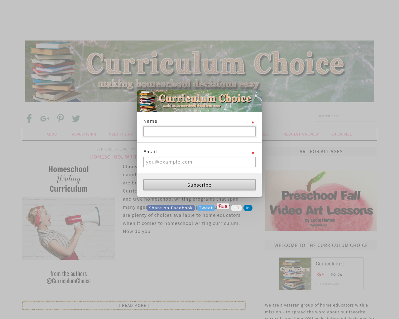 Curriculum-Choice-Advertising-Reviews-Pricing