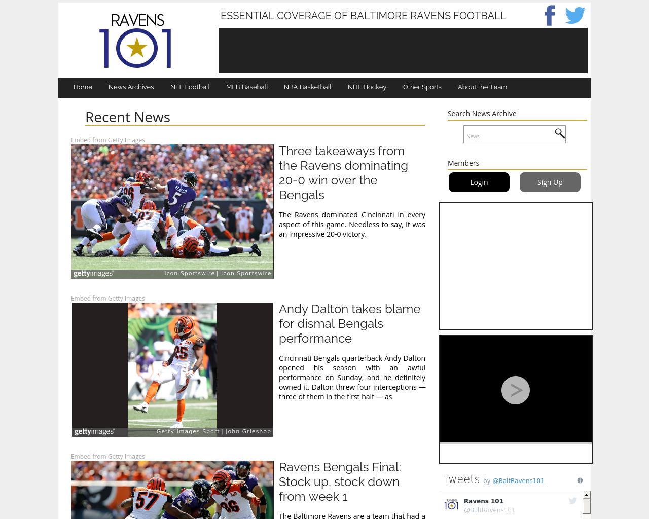 Ravens101.com-Advertising-Reviews-Pricing