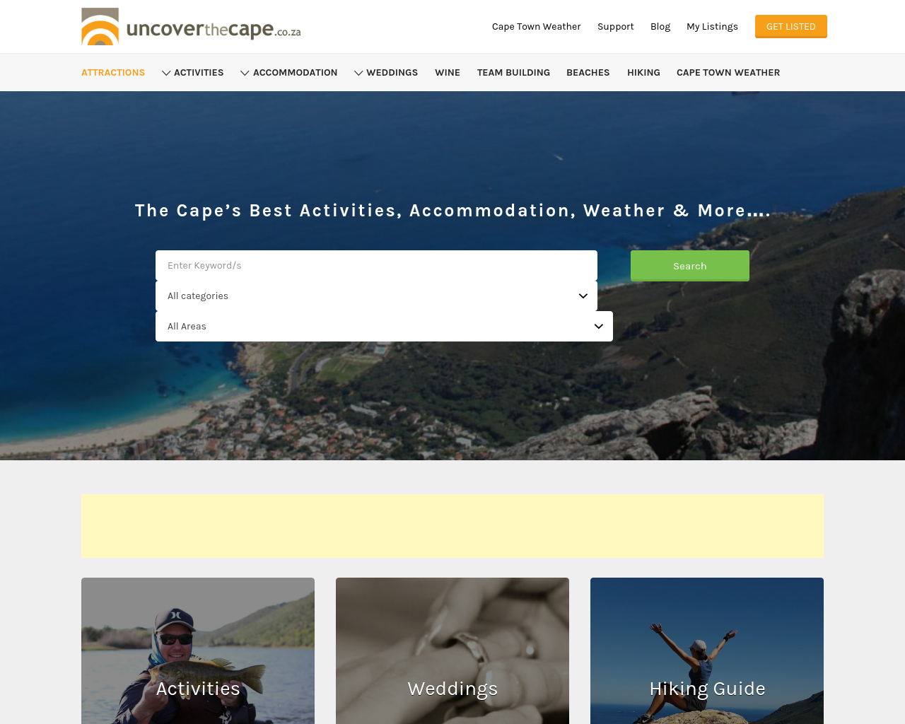 uncoverthecape.co.za-Advertising-Reviews-Pricing