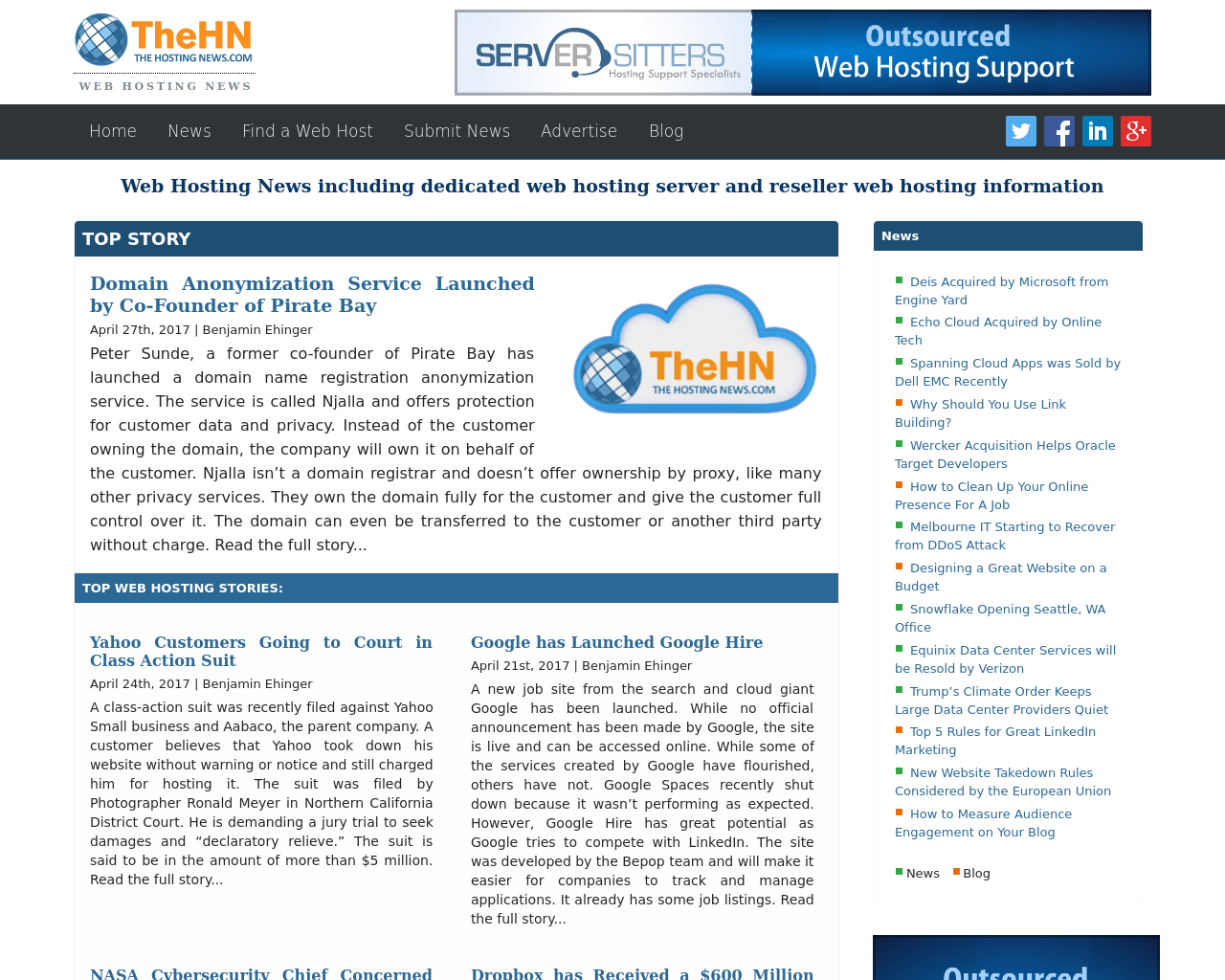 TheHN-(the-hosting-news.com)-Advertising-Reviews-Pricing