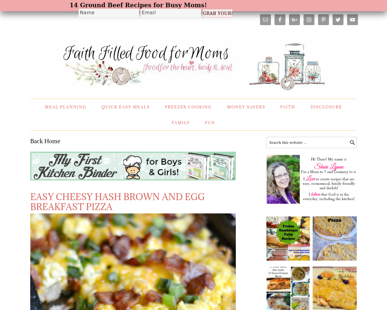 Faithfilledfoodformoms-Advertising-Reviews-Pricing