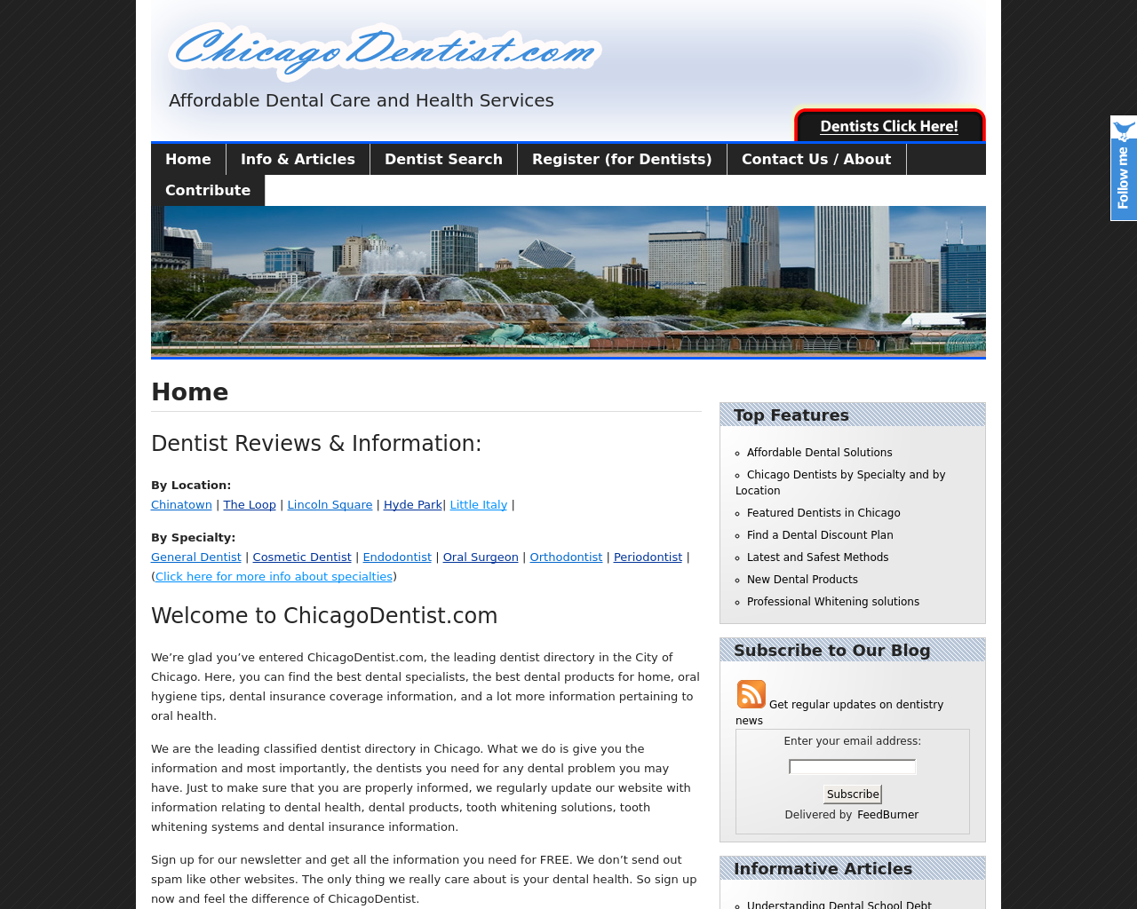 Chicagodentist.com-Advertising-Reviews-Pricing