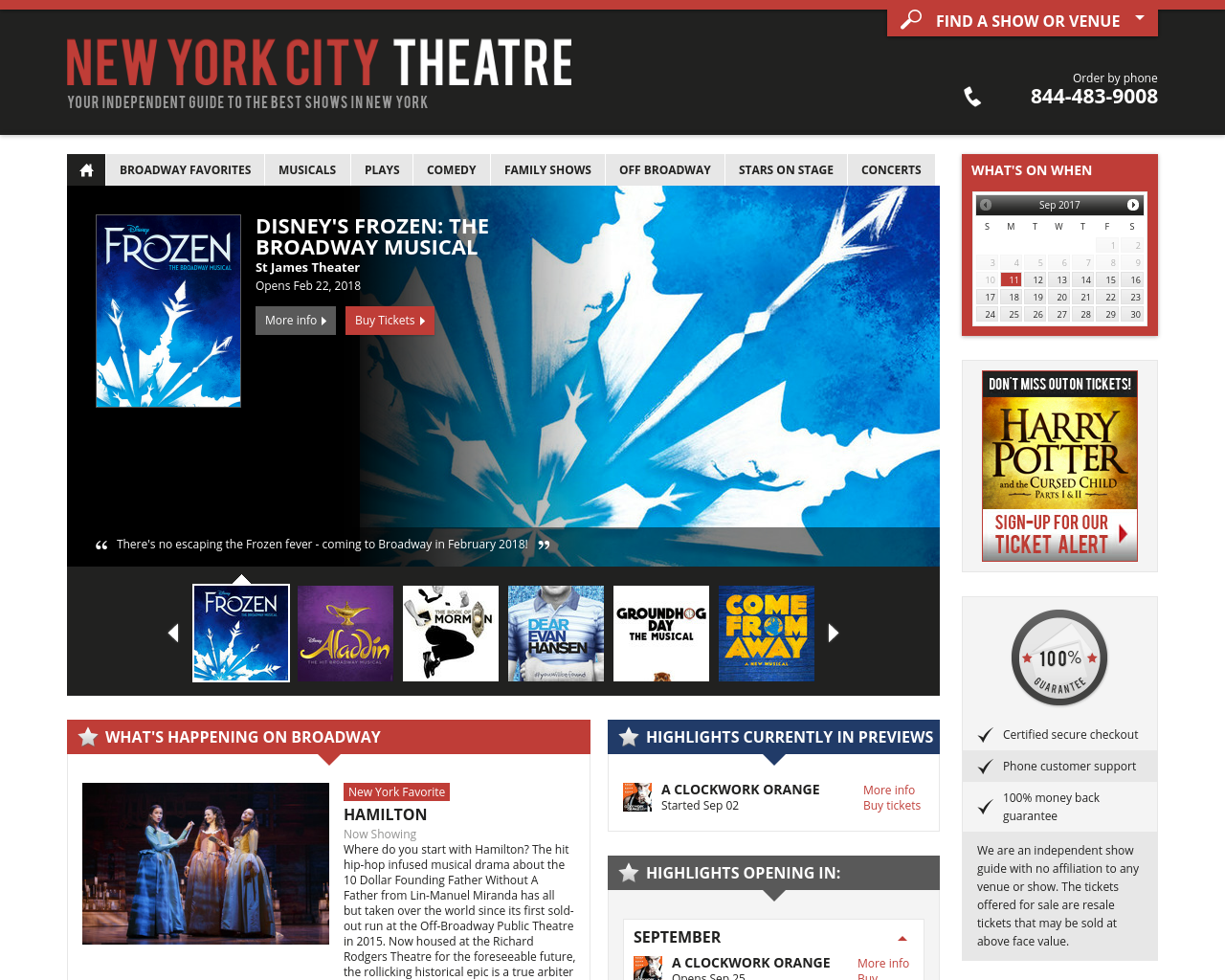 New-York-City-Theatre-Advertising-Reviews-Pricing