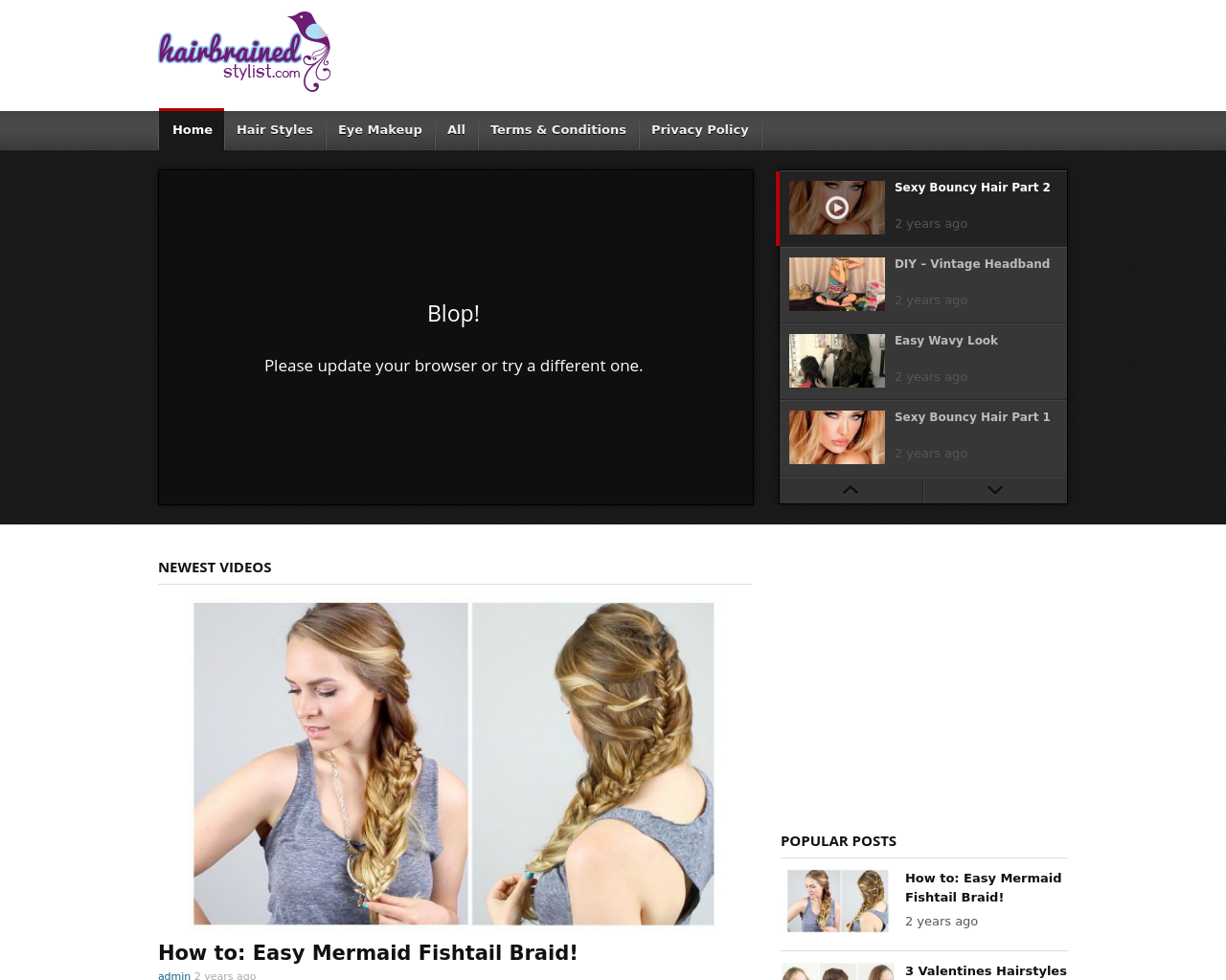 Hairbrainedstylist.com-Advertising-Reviews-Pricing