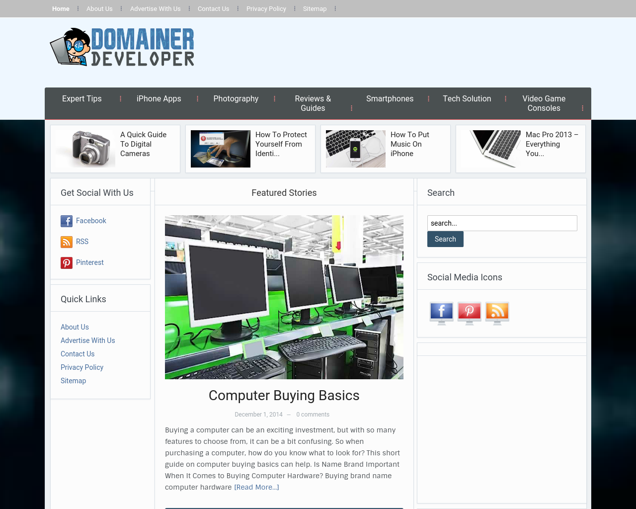 DomainerDeveloper-Advertising-Reviews-Pricing