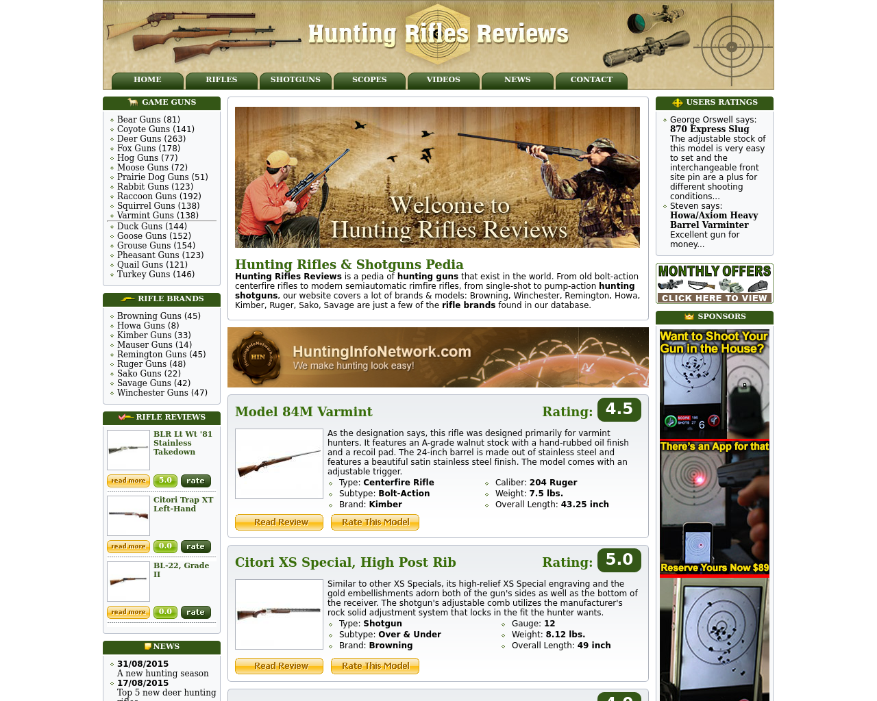 Hunting-Rifles-Reviews-Advertising-Reviews-Pricing