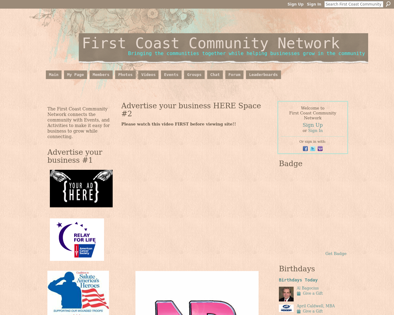 The-First-Coast-Community-Network-Advertising-Reviews-Pricing