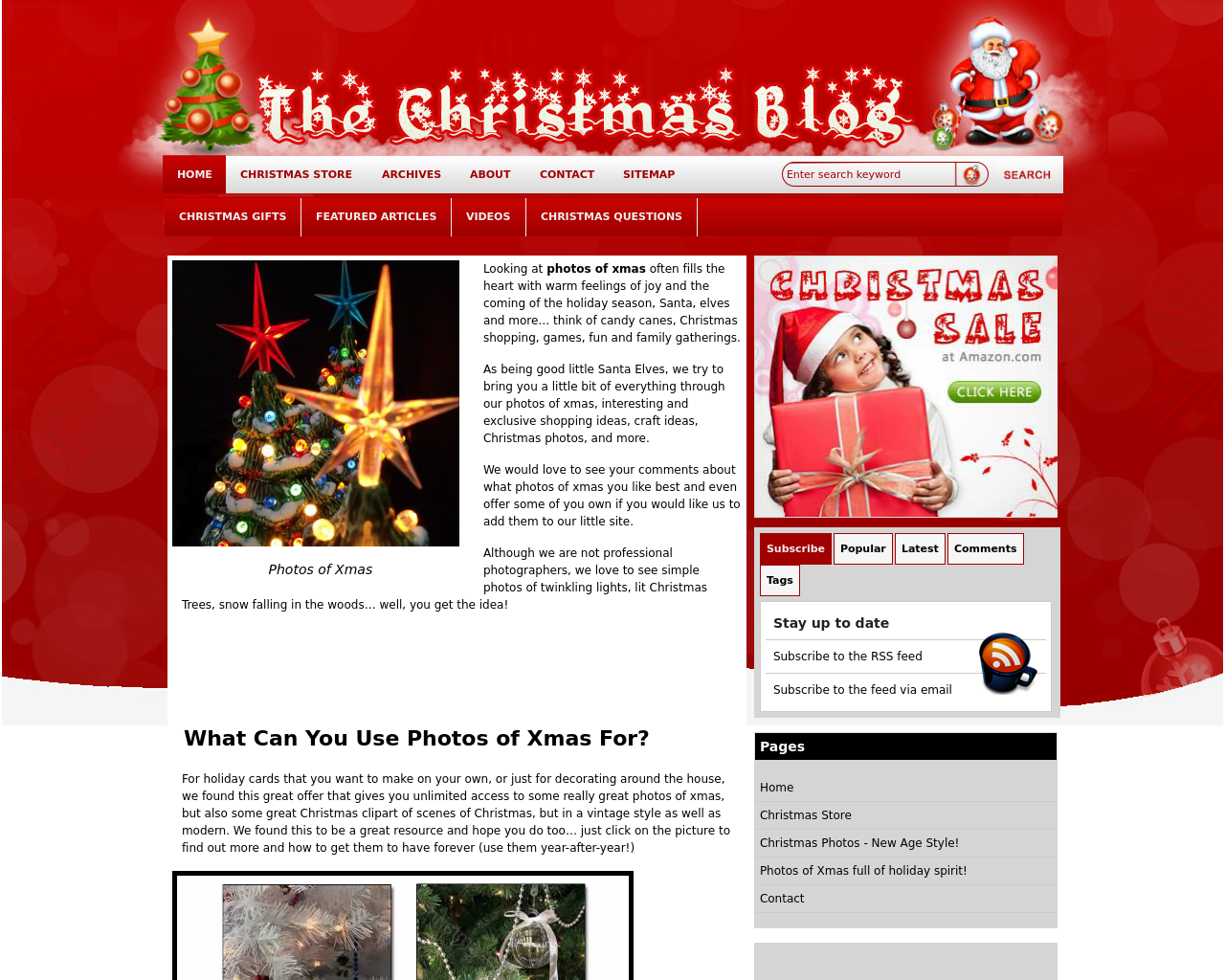 The-Christmas-Blog-Advertising-Reviews-Pricing