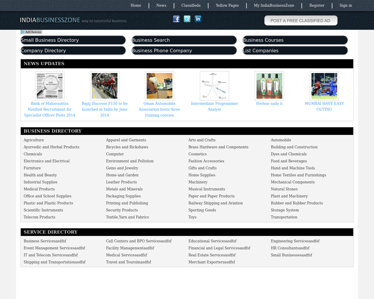 IndiaBusinessZone.com-Advertising-Reviews-Pricing