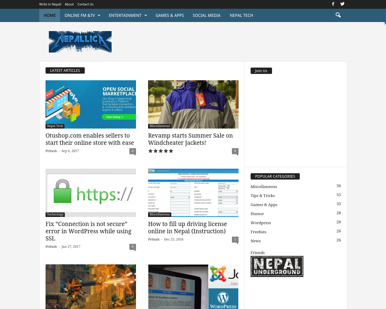 Nepallica.com-Advertising-Reviews-Pricing