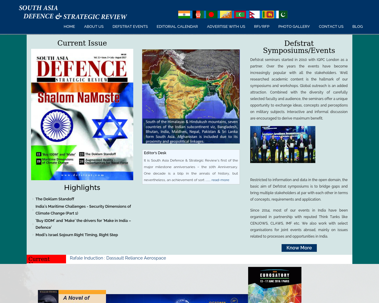 South-Asia-Defence-And-Strategic-Review-Magazine-Advertising-Reviews-Pricing