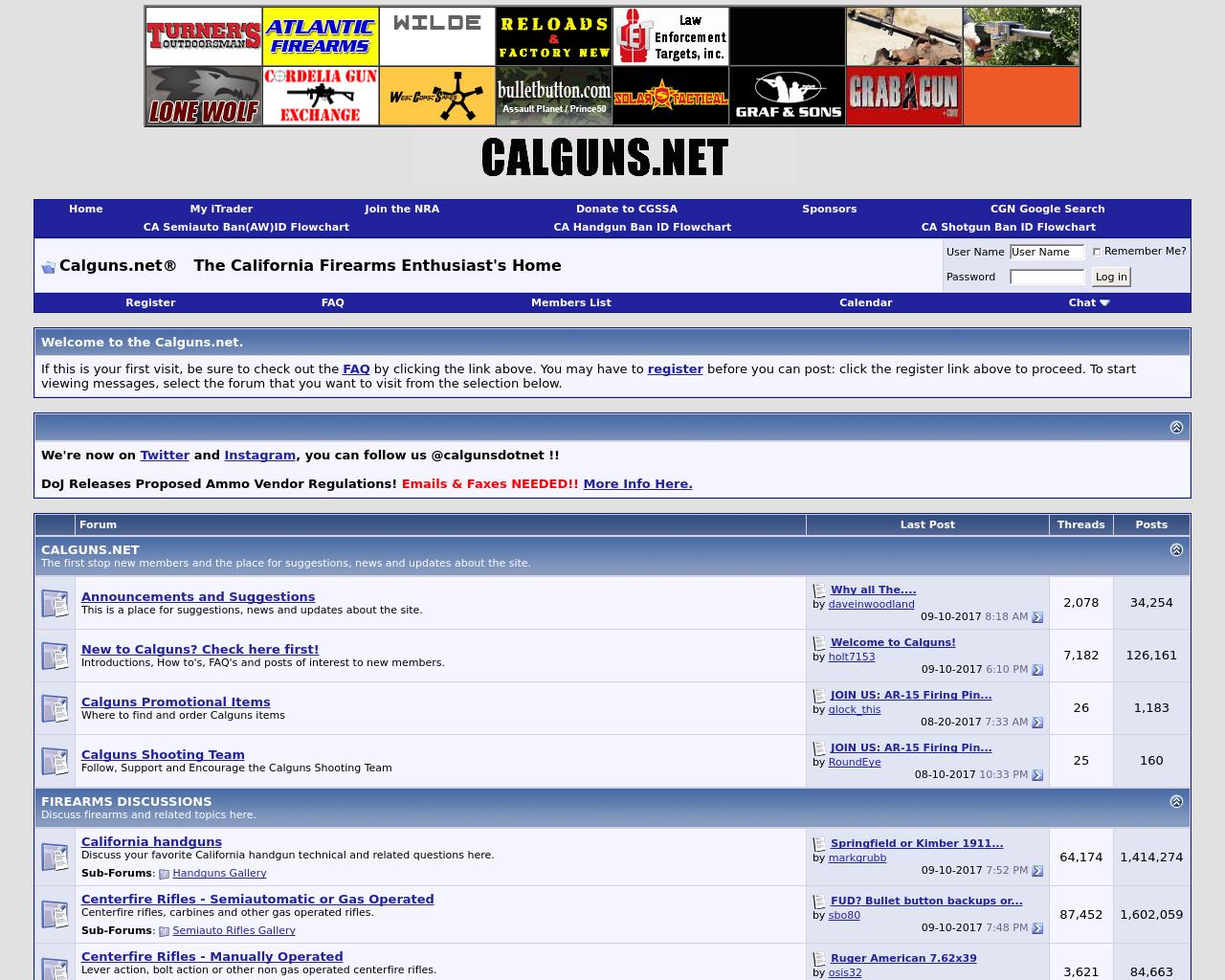 CALGUNS.NET-Advertising-Reviews-Pricing