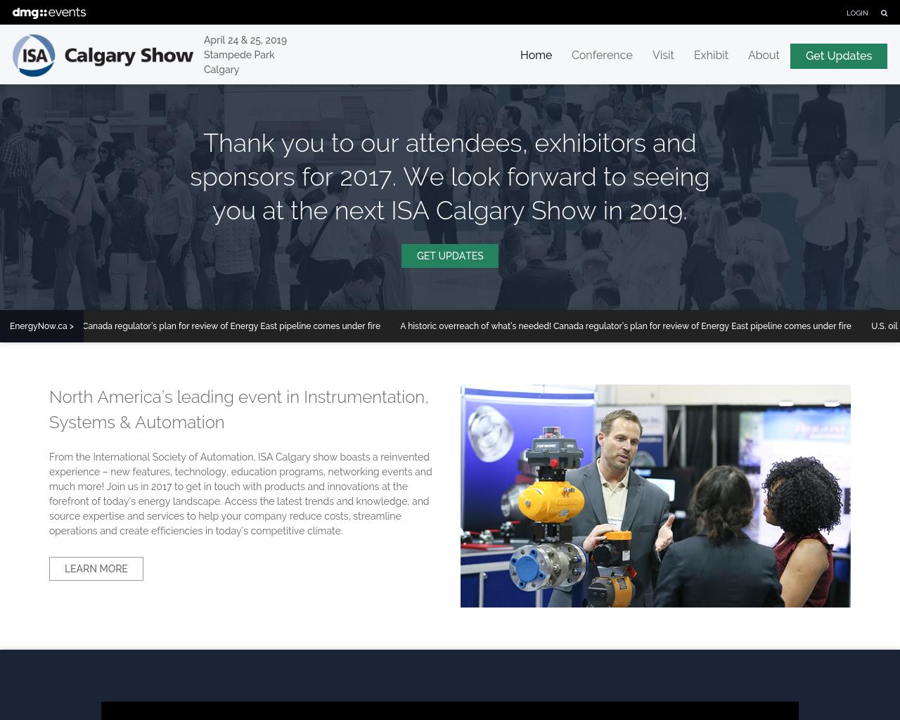 ISA-CALGARY-SHOW-Advertising-Reviews-Pricing